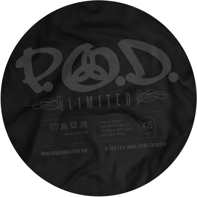 P.O.D. Limited Edition - T-Shirt